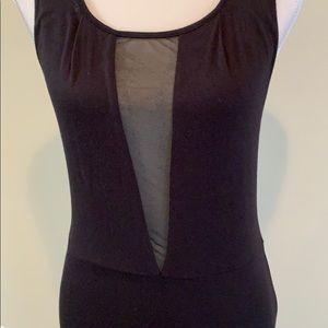 Dresses & Skirts - Black dress sheer back